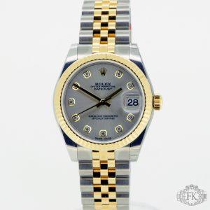 fe2129f0cdc Rolex Lady-Datejust | 31mm Steel & Gold Diamond Dot Dial | NEW 2019
